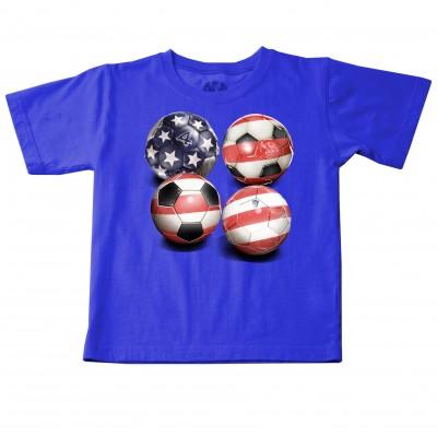 Wes 'n' Willy U.S. Soccer  Tee