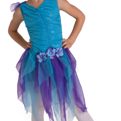 Little Adventures Teal Fairy Dress