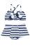 Le Top Happy Sails Nautical Two-Piece Skirted Swimsuit
